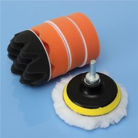 Wholesale 6 inch Buffing Pad Kit For Polishing wheel Auto Car With M10 Drill Adapter