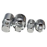 Wholesale New set Socket Ratchet Converter Reducers Adaptors inch inch inch Set Garage DIY Universal Joint Impact Adapter