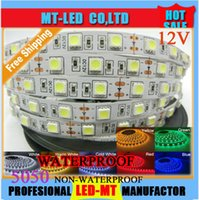 waterproof led strip - CE ROHS LED strip SMD V flexible light LED m m waterproof LED strips LED White White warm Blue Green Red Yellow