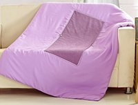 Wholesale 2014 Winter cm Purple Terry Fabric Multi function Pillow Blanket Office Cushion Car Blanket Cushion Air Conditioning Quilt