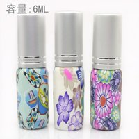 Wholesale ml Polymer Clay Perfume Bottle Spray FragranceTravel Empty Cosmetic Container Bottles