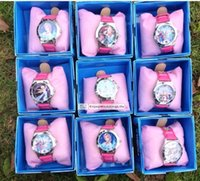 baby gifts keepsakes - 2015 New Children Frozen girl Cartoon Children clock watch Wrist watches Baby frozen watches gift with colorful boxes MYF08