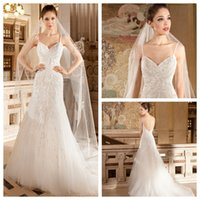 Cheap Demetrios Tulle Ivory 2015 Wedding Dresses Spaghetti Straps Backless Sleeveless Court Train Beading Sequins A Line Bridal Wedding Gowns 578