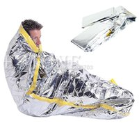 Wholesale hot selling for Portable Waterproof Reusable Emergency Silver Foil Camping Survival Sleeping Bag