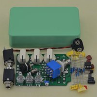 Wholesale DIY Overdrive Guitar Effect Pedal True Bypass Electric guitar stompbox pedals OD1 Kits KH