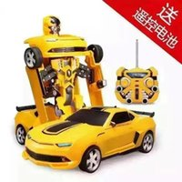 Wholesale Jia Qi TT665 Variant of the remote control car Baby Children gifts toys modified diamond Robots