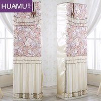 Wholesale Continental lace flowers vertical Guiji cover air conditioning cover air conditioning cover air conditioning closet cloth cover