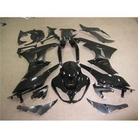 Wholesale Glossy Black For KAWASAKI ZX R Compression Racing Bodywork Set Ninja Motorcycle Fairing Kit