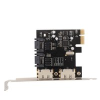 Wholesale Quality New PCI E to ports SATA eSATA Converter Extension Card MB s Gbps