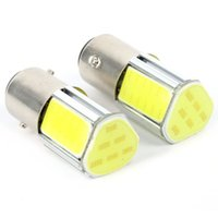 Wholesale 2X White BAY15D COB LED Brake Turn Signal Rear Light Car Bulb Decor Lamp