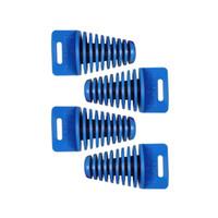 Wholesale Small BLUE ZXTD Exhaust Pipe Muffler Silencer Stroke Plug Motorbike
