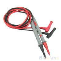 Wholesale Universal Digital Multimeter Multi Meter Test Lead Probe Wire Pen Cable M8O A2