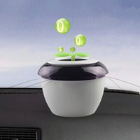 Wholesale Minus Ion Car Air Purifier Car Air Purification Machine Peace Grass Eradicate Odor Formaldehyde In Car Home Office