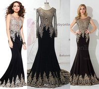 lace dress - New Sexy Sheer Sleeveless Satin Mermaid Floor Length Evening Dresses Lace Applique Prom Dresses SK3935