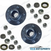 trailer hubs - A PAIR STUD FORD TRAILER LAZY HUBS KIT WITH HOLDEN BEARINGS