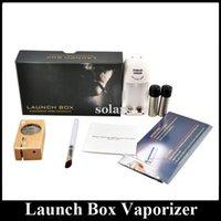 Electronic Cigarette box light - Hot Sale Launch Box Vaporizer Magic Light Portable Dry Herb Weed Vaporizer Starter Kit DHL EMS Freeshipping