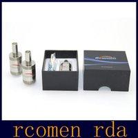 Rcomen RDA Atomizador 22mm flujo de aire Control vs Fibra de Carbono Niño Engima Aqua Caballo Oscuro Freakshow DOGE Geyser V2 V3 V4 RDA Atomizer
