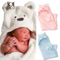 Wholesale New Brand Ssfe Baby Blanket Fleece Bedding Set Cartoon Carters Newborn Plaid For Bed Bear Children Blanket cm HK317
