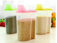 food storage container - Large Food Container Plastic Kitchen Storage Tank Good Quality Storage Box l