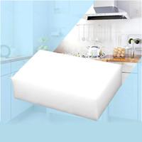 Wholesale 30 White Magic Sponge Eraser Melamine Cleaner multi functional Cleaning x60x20mm Retial ZH209