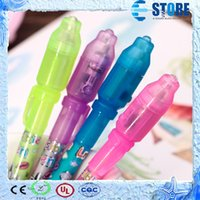 Invisible pen - Invisible pen secret message pen as Christmas gift for Kids invisible ink pen with UV BY DHL FEDEX wu