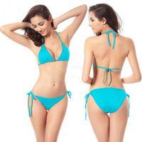 Polyester add khaki - New Swimsuit BIKINI swimwear classic fashion add padding BIKINI sexy lingerie colors swim suit underwear beach hot