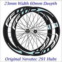 Wholesale Full Carbon FFWD F6R Road Bike Wheels Rims mm Carbon Clincher Tubular Wheelset Road Bicycle C Wheel Novatec Hubs