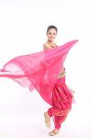 sari - Promotion Chiffon Belly Dance Veil Sari Dancing Scarf Turban Girls Headdress Colors