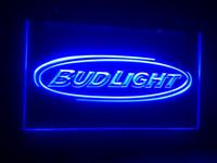 Cheap Blue bud light Best Commercial restaurant 110-240V neon sign