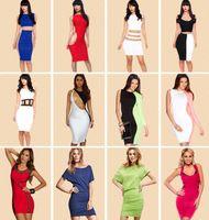 fashion club wear - Women Sexy Club Wear Hot Dresses For Party Evening Fashion Bodycon Dress Mix Styles High Quality