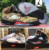 camo fabric - Nike Supreme X dan Desert Camo Retro s Special Edition Men s Jordans Supreme AJ5 Original Quality With Shoe Box