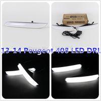 Cheap New Design!! Led Daytime Running Light LED DRL For Peugeot 408 (13-14) Daytime Driving Light,