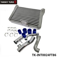 Wholesale TANSKY Alloy Turbo Front Mount Intercooler Piping Kit HP For Subaru BRZ Ft86 Scion FRS TK INT0024FT86