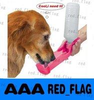 Cheap Best price 120pcs lot Handi-Drink Portable Water Dispenser Pets Dog Hiking Camping Road Trip free shipping LLY831AA