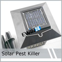 Wholesale Solar Mosquito Killer Fly Pest Insect Bug Zapper Lights