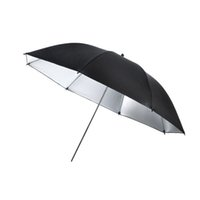 Wholesale S5Q cm inch Flash Light Reflector Black Silver Umbrella Studios Accessories AAAERS
