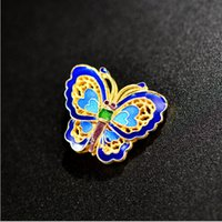 Wholesale 2015 new Cloisonne diy accessories s925 silver gold plated butterfly hand every bead accessories fashion boutique accessories