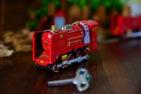 articles trades - Foreign trade wind iron toys classic red train hair article toys rare collection