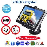 best gps nav - Brand Best quot Truck GPS Car Navigation GB Sat Nav Bluetooth Connect FREE MAPS UPDATE CAR Navigation Inch Car GPS