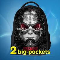 army ants - The Avengers ant man bag Kids back bag ANT MAN backpacks bags student schoolbag New backpack for children