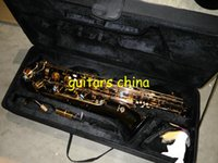 Wholesale NEW woodwind BARITONE SAXOPHONE Gold Baritone Sax Saxophone in stock Musical instruments
