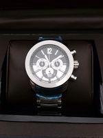 analog pro - LUXUEY New Brand Men luxury diagono pro calibro watch quartz movement stopwatch stainless steel rose gold iron man wristwatch