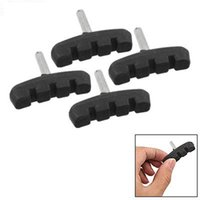 bicycle brake pads replacement - FS Hot Pair of Bicycle Bike Rubber Replacement Brake Pads Part Black order lt no track