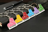 beethoven music - best selling new creative keychain Beethoven piano sonata music musical notes keychain key ring High quality