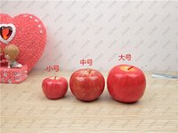 Wholesale New Apple Christmas decorations simulation fruit strange new creative birthday gifts on Christmas Eve