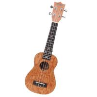 Wholesale Promotion21 quot Soprano Ukulele Rosewood Ukelele Electro Acoustic Veneer Tuner Hot Hot selling