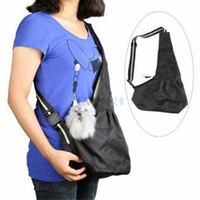 dog stroller - Pet Dog Cat Carrier Single Shoulder Strip Sling Stroller Bag Tote Oxford Cloth S