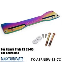 asr car - ASR Car Neochrome Jdm Rear Subframe Tie Brace Bar Suspension Handling JDM Suspension For Honda Civic Acura RSX Si EP3 ES TK ASRNEW ES C