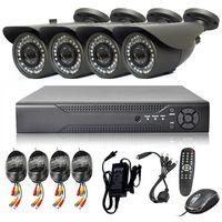 Wholesale CS big lens cctv camera tvl cmos ccd with CS mm mm mm lens good quality system ch dvr h security system