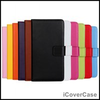 Wholesale Classical Genuine Leather Case Stand Flip Wallet Cover for Apple iPhone Plus S S mix